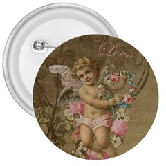 Cupid   Vintage 3  Buttons