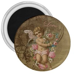 Cupid   Vintage 3  Magnets