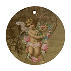 Cupid   Vintage Ornament (round)