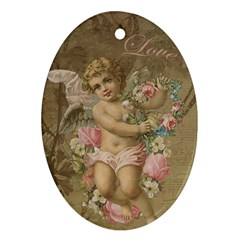 Cupid   Vintage Ornament (oval)