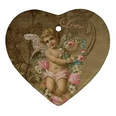 Cupid   Vintage Ornament (heart)