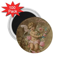 Cupid   Vintage 2 25  Magnets (100 Pack)