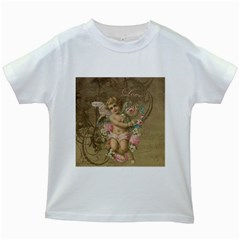 Cupid   Vintage Kids White T Shirts