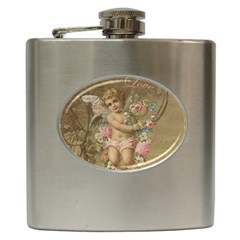 Cupid   Vintage Hip Flask (6 Oz)