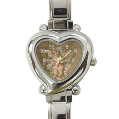 Cupid   Vintage Heart Italian Charm Watch