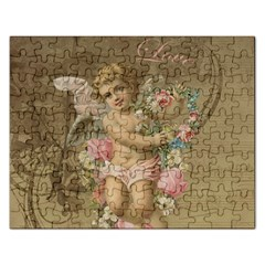 Cupid   Vintage Rectangular Jigsaw Puzzl