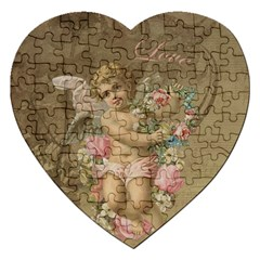 Cupid   Vintage Jigsaw Puzzle (heart)