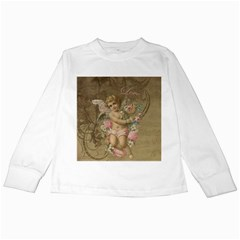 Cupid   Vintage Kids Long Sleeve T Shirts