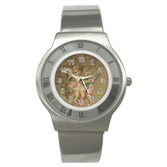 Cupid   Vintage Stainless Steel Watch