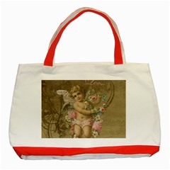 Cupid   Vintage Classic Tote Bag (red)