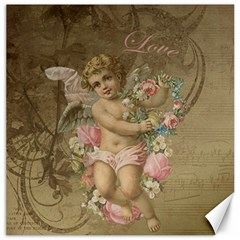 Cupid   Vintage Canvas 16  X 16