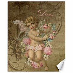 Cupid   Vintage Canvas 16  X 20