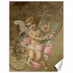Cupid   Vintage Canvas 18  X 24