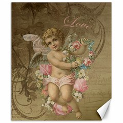 Cupid   Vintage Canvas 20  X 24