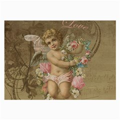 Cupid   Vintage Large Glasses Cloth