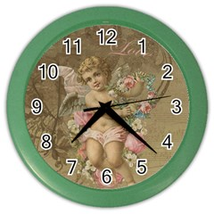 Cupid   Vintage Color Wall Clocks