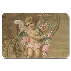 Cupid   Vintage Large Doormat