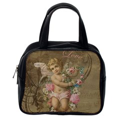 Cupid   Vintage Classic Handbags (one Side)