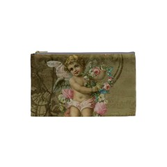 Cupid   Vintage Cosmetic Bag (small)