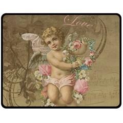 Cupid   Vintage Fleece Blanket (medium)