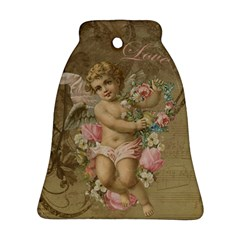 Cupid   Vintage Bell Ornament (two Sides)