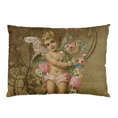 Cupid   Vintage Pillow Case (two Sides)