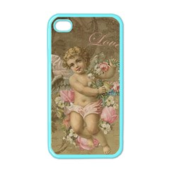 Cupid   Vintage Apple Iphone 4 Case (color)