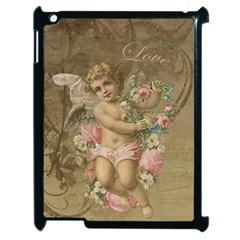 Cupid   Vintage Apple Ipad 2 Case (black)