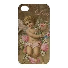 Cupid   Vintage Apple Iphone 4/4s Hardshell Case