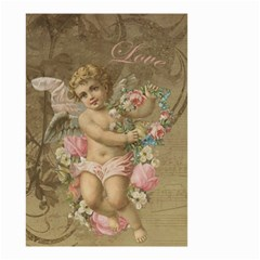 Cupid   Vintage Small Garden Flag (two Sides)