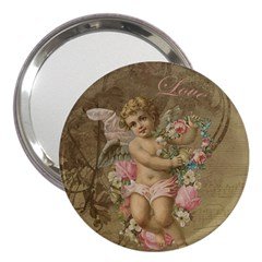 Cupid   Vintage 3  Handbag Mirrors
