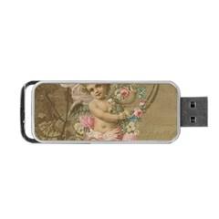 Cupid   Vintage Portable Usb Flash (one Side)