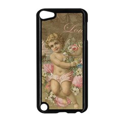 Cupid   Vintage Apple Ipod Touch 5 Case (black)