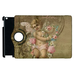 Cupid   Vintage Apple Ipad 2 Flip 360 Case