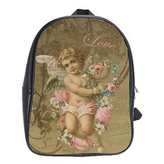 Cupid   Vintage School Bag (xl)