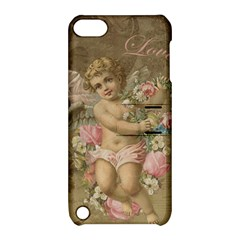 Cupid   Vintage Apple Ipod Touch 5 Hardshell Case With Stand