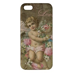 Cupid   Vintage Apple Iphone 5 Premium Hardshell Case