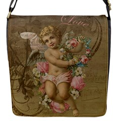 Cupid   Vintage Flap Messenger Bag (s)