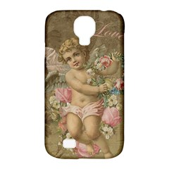 Cupid   Vintage Samsung Galaxy S4 Classic Hardshell Case (pc+silicone)