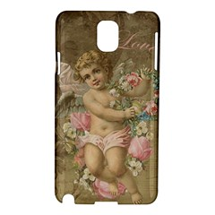 Cupid   Vintage Samsung Galaxy Note 3 N9005 Hardshell Case