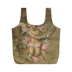 Cupid   Vintage Full Print Recycle Bags (m)