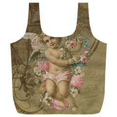 Cupid   Vintage Full Print Recycle Bags (l)