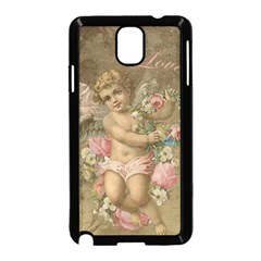 Cupid   Vintage Samsung Galaxy Note 3 Neo Hardshell Case (black)