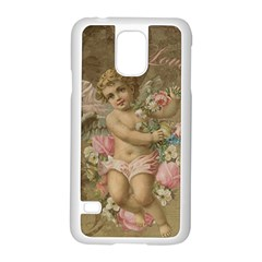 Cupid   Vintage Samsung Galaxy S5 Case (white)