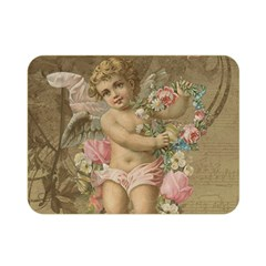 Cupid   Vintage Double Sided Flano Blanket (mini)