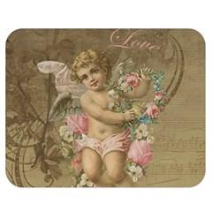 Cupid   Vintage Double Sided Flano Blanket (medium)