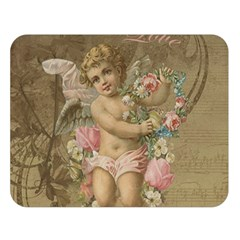 Cupid   Vintage Double Sided Flano Blanket (large)
