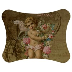 Cupid   Vintage Jigsaw Puzzle Photo Stand (bow)