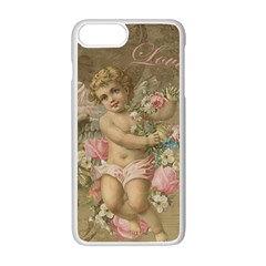 Cupid   Vintage Apple Iphone 7 Plus Seamless Case (white)