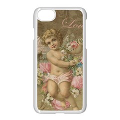 Cupid   Vintage Apple Iphone 8 Seamless Case (white)